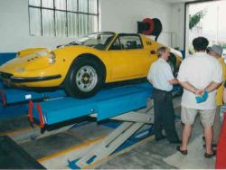 Silvauto interno Ferrari