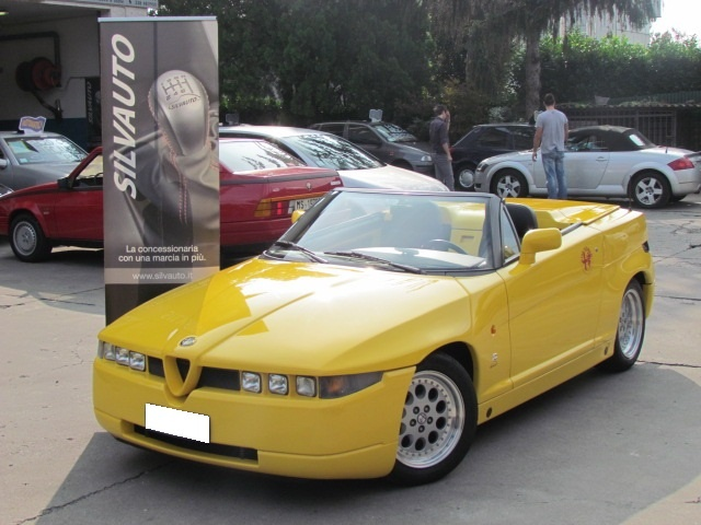 Alfa Romeo R.Z. Roadster Zagato