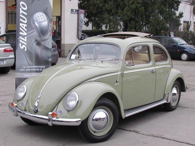 Volkswagen Maggiolino Ovale 1192CC 6V 25CV Faldach