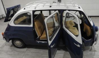 FIAT MULTIPLA 600 D 100 D 108 – 767cc RARA VERSIONE 5 POSTI – TOTALMENTE RESTAURATA (1963)