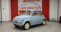 FIAT NUOVA 500 N – RARISSIMA ED ECCELSA PRIMA SERIE – RESTAURO TOTALE (1958)