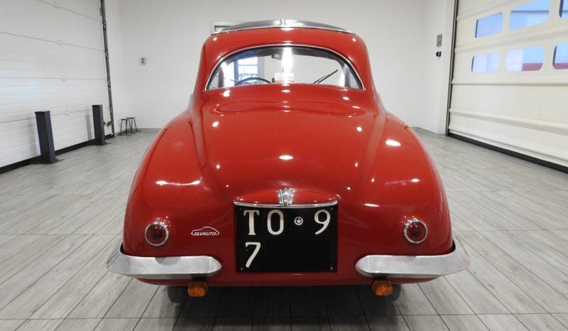FIAT MAESTRI 500 A BERLINETTA – ISCRITTA ASI – OMOLOGATA REGISTRO FIAT ITALIANO – ESEMPLARE DI COSTRUZIONE ARTIGIANALE ULTRARARO – UNA DELLE DUE SOLE BERLINETTA REALIZZATE DA MAESTRI (1948)